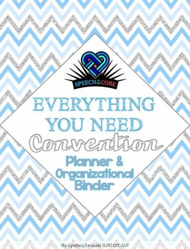 Everything You Need! Convention Binder
