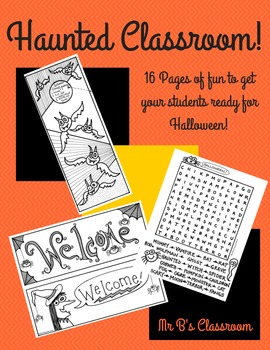Everything You Need For An Awesome Halloween! Decor Activi