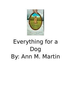 Everything for a Dog Book Club