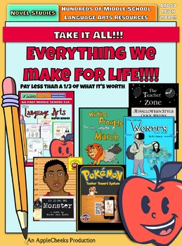 Everything we make for life!  TAKE IT ALL (FOR-EE-VER) (so