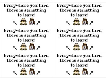Everywhere you turn, there is something to learn! Bookmark