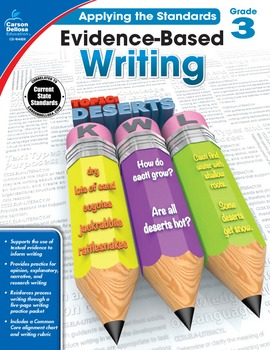 Evidence Based Writing Grade 3 SALE 20% OFF! 104826