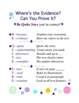 Evidence - How to Be Sure You've Found the Best Answer
