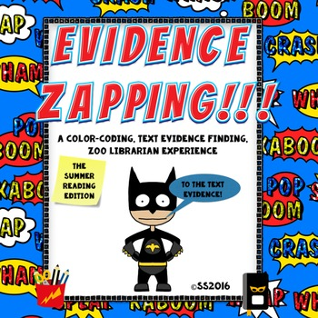 Evidence Zapping!!! (The Summer Reading Edition) Finding T