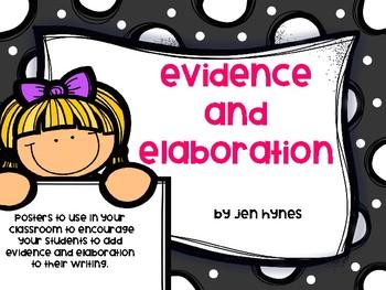 Evidence and Elaboration