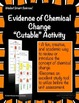 """Evidence of Chemical Change """"Cutable"""" Activity"""
