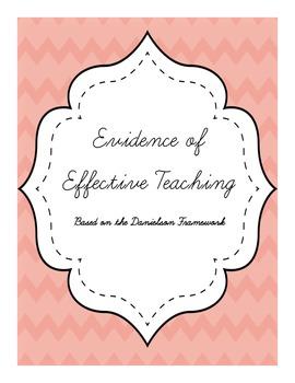 Evidence of Effective Teaching (Danielson Framework) Binde