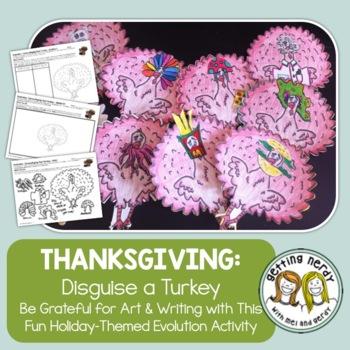 Adaptations Thanksgiving Activity