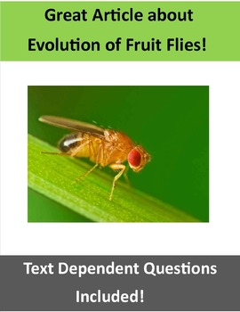 Evolution Assignment