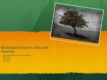 Evolution One to One 13 Day Unit: Covers NCSS Standards MS