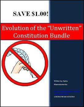 "Evolution of the ""Unwritten"" Constitution Bundle"
