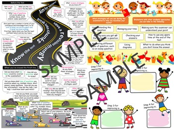 Test prep using metacognition exam wrapper