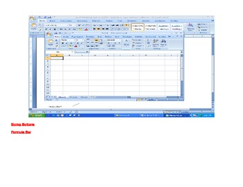Excel 2010 - Label Parts of Screen
