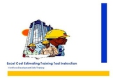 Excel Construction Cost Estimating Tool Instruction