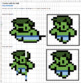 Excel: Learn how to insert and delete cells with pixel art