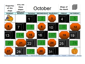 Excel Spreadsheet with Interactive Calendars and PPTs for
