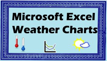 Microsoft Excel - Creating a Weather Line Chart