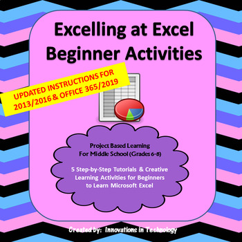 Excelling with Excel - Beginner Activities