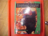 """Exceptional Children, seventh edition"""