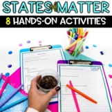 States of Matter Activities to teach about Properties of a