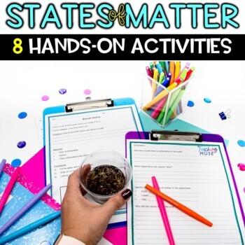 States of Matter solid, liquid, gas Activities