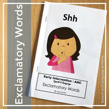 """Exclamatory Words """"Shh"""""""