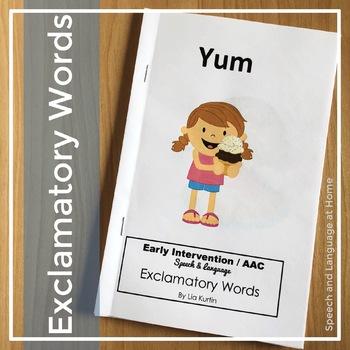 """Exclamatory Words """"Yum"""""""
