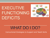 Executive Functioning Skills - Instructional Strategies