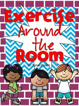 Exercise Around the Room Brain Break and Rainy Day Game