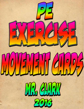 Exercise Movement Cards