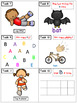 Alphabet Task Cards - Exercise Scoot! Letter B {Emergent R