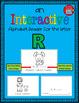 Alphabet Task Cards - Exercise Scoot! Letter R {Emergent R