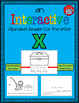 Alphabet Task Cards - Exercise Scoot! Letter X {Emergent R