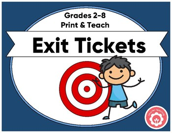 Exit Ticket For ALL Purposes