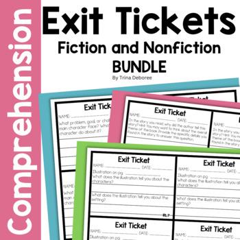 ELA Exit Tickets for Second Grade