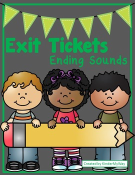 Ending Sounds Exit Tickets