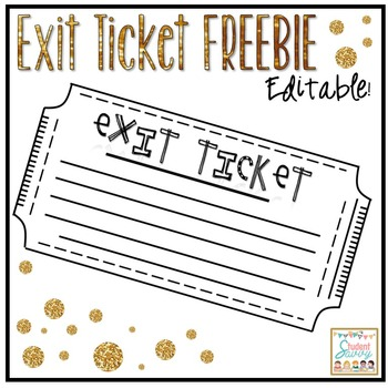 Exit Tickets - Free