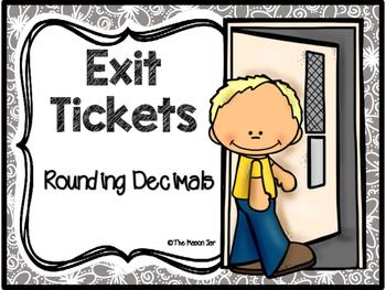 Exit Tickets: Rounding Decimals