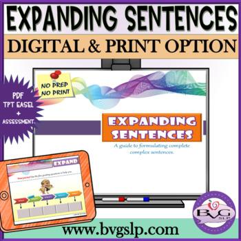 Expanding Sentences - Teletherapy