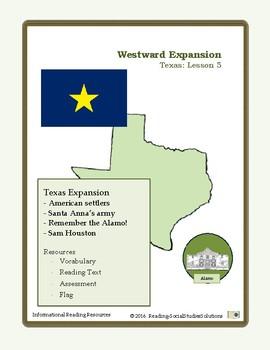 Expansion Lesson 5 - Texas