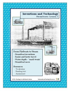 Inventions Lesson 1 - Steamboats