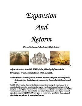 Expansion and Reform - Goal 2 LDC Module
