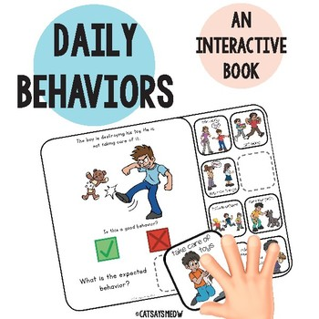 Expected Behaviors Interactive Book: Good v. Bad Behavior