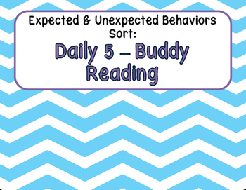 Expected & Unexpected Behavior File Folder- Read with a Pa