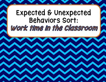 Expected & Unexpected Behavior File Folder- Working in the