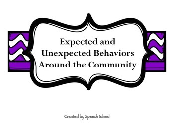 Expected and Unexpected Behaviors in the Community