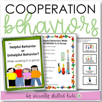 SOCIAL SKILLS: Getting Along With Others {Differentiated k