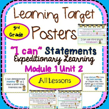 Engage NY Expeditionary Learning 3rd Gr Module 1 Unit 2 Le