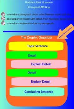 Expeditionary Learning Engage NY Module 1 Unit 1 Lesson 8 grade 3
