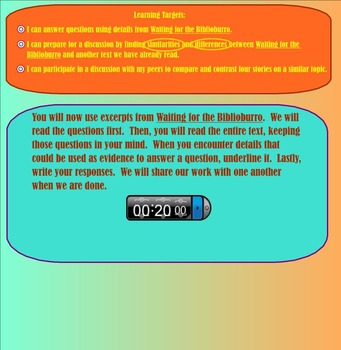 Expeditionary Learning Engage NY Module 1 Unit 3 Lesson 4 grade 3